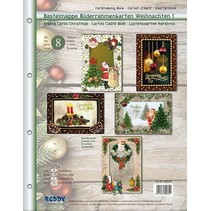 Craft wallet for designing 8 edele Christmas Cards