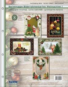 BASTELSETS / CRAFT KITS: portafoglio Craft per la progettazione di 8 Edele Cartoline di Natale