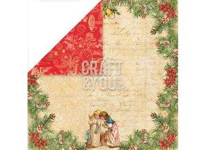 Designer Papier Scrapbooking: 30,5 x 30,5 cm Papier Carta Designer 30,5 x 30,5 cm, Natale
