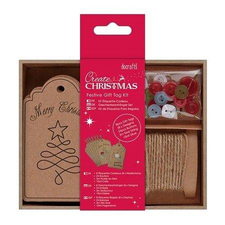 Komplett Sets / Kits Bastelset for designing Christmas Gift Labels