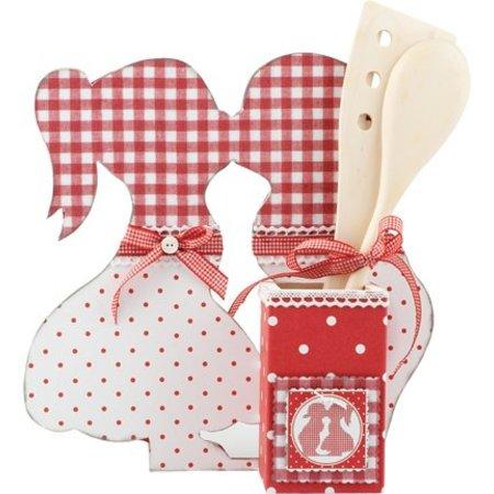 Objekten zum Dekorieren / objects for decorating MDF Set: Ständer, Kissing Boy & Girl