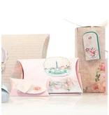 "Dekoration Schachtel Gestalten / Boxe ... Bastelset for 14 packages ""Tres Chic"" + Labels"