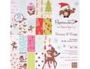 DESIGNER BLÖCKE  / DESIGNER PAPER Diseñador de papel 20,3 x 20,3 cm, motivos navideños
