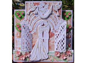 Marianne Design Corte y estampado en relieve plantillas, las campanas de Petra
