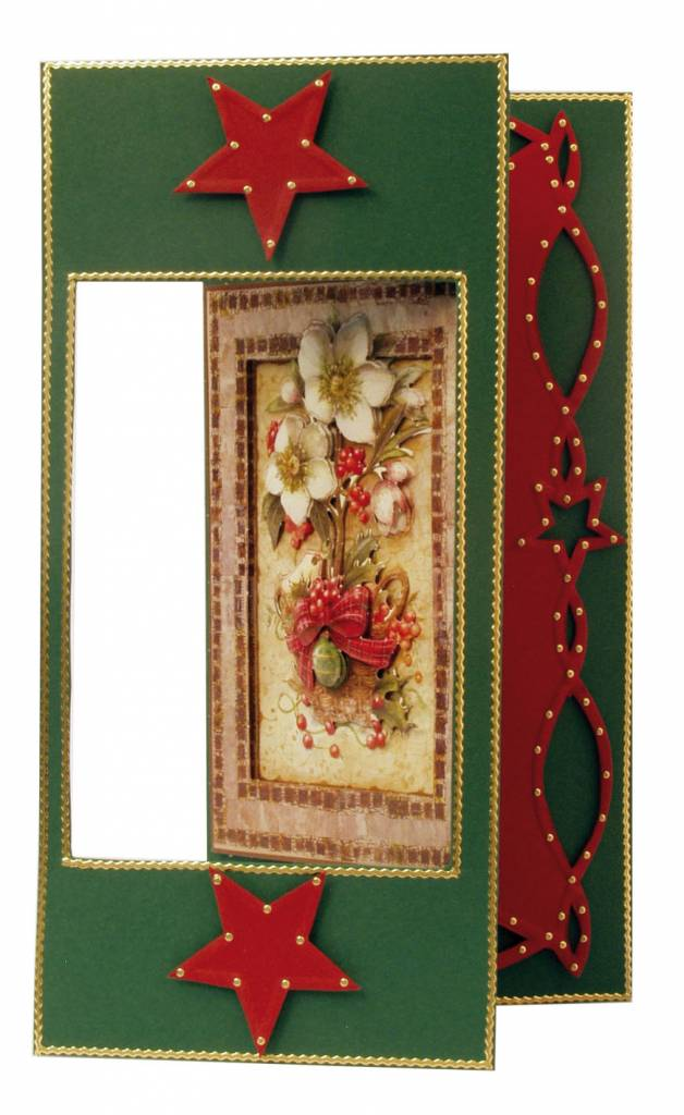 BASTELSETS / CRAFT KITS: Christmas Cards Set: 3D Die cut sheets ...