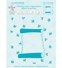 "Leane Creatief - Lea'bilities Embossing Folder ""Rotolo di pergamena,"" Leane Creatief"