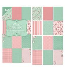 "Joy!Crafts und JM Creation Designer Paper Blocco 15 x 30 cm, ""floreale (verde)"""