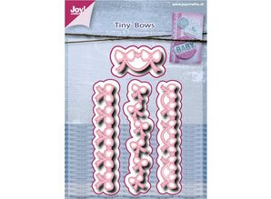 Joy!Crafts und JM Creation Cutting and embossing stencils, bows - border