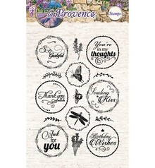 Studio Light Transparent stamps, 15 motifs, English language