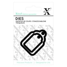 X-Cut / Docrafts Cutting and embossing stencils Mini Labels
