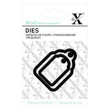 X-Cut / Docrafts Stanz- und Prägeschablonen, Mini Labels