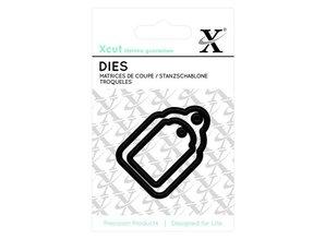 X-Cut / Docrafts Skæring og prægning stencils Mini Labels