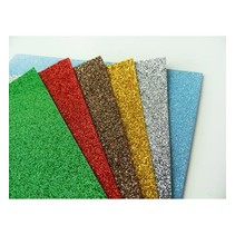 5 x Glitter Paper, A5