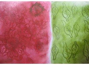 FARBE / INK / CHALKS ... 3D sello Color: Opción de 14 colores