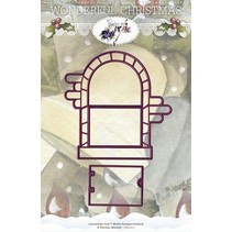 Cutting and embossing stencils, farmhouse Tur