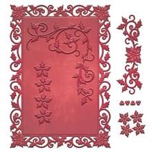 Spellbinders und Rayher Stampaggio e goffratura stencil, motivi natalizi