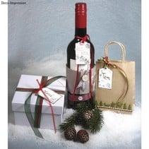 "SPECIAL EDITION: mini wood stamp ""Winter Wonderland"""