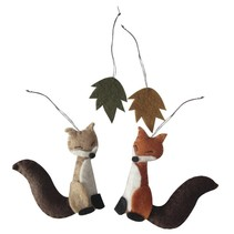 Bastelpackung: Filz Waldfreunde zum hängen