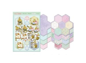 Exlusiv Return to Patchwork Forest - Patchwork Flower Card Kit