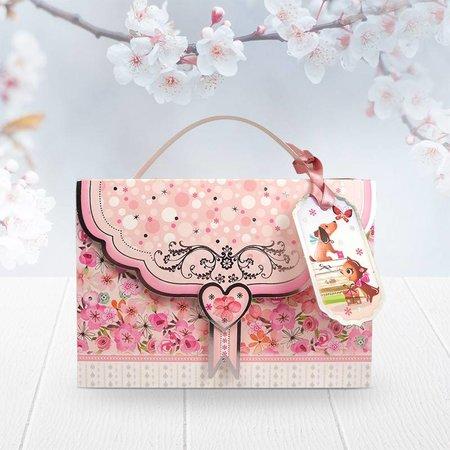 Exlusiv Bastelset, Boutique Chic - Geschenkschachtel: Mini Tasche Projekt