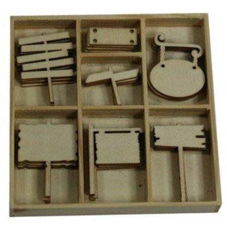 Objekten zum Dekorieren / objects for decorating Cuadro Adorno, con marca de 35 partes!