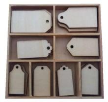 Objekten zum Dekorieren / objects for decorating Scatola Ornamento, con etichetta 40 parti!