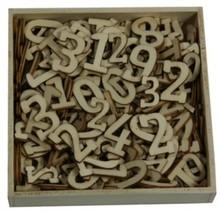 Objekten zum Dekorieren / objects for decorating Ornament kasse, med tal store og små, 256 stykker
