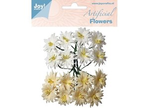 Joy!Crafts und JM Creation Plast blomster: lilje hvid / creme