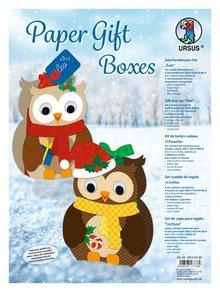 Dekoration Schachtel Gestalten / Boxe ... Completar Bastelset para el diseño de 8 cajas de regalo