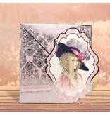 """Exlusiv Deluxe Bastelset mit ausgestanzte, tolle Bilder und Luxus Designer Karton """"My Fair Lady"""" Set Nr.1"""