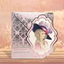 """Deluxe Bastelset with punched, great pictures and Luxury Designer cardboard """"My Fair Lady"""" Set No.1"""