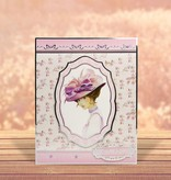 """Exlusiv Deluxe Bastelset con perforados, grandes fotos y cartón de lujo de """"My Fair Lady"""" Conjunto No.2"""