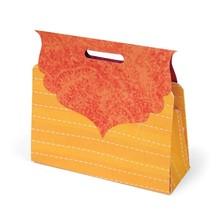 Sizzix Stampaggio modello, scatola regalo in forma di una borsa