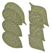 Stanz- und Prägeschablonen, 8 verschiedenen Blätter mit Prägung