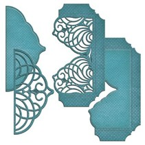 Punching and embossing templates, cascading grace pocket