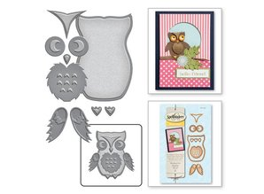 Spellbinders und Rayher Cutting and embossing stencils, Eul