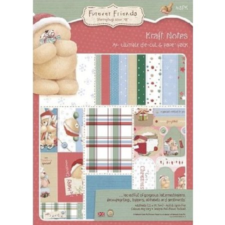 Forever Friends A4 Designersblock, jul Collection