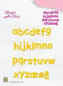 Nellie snellen Taglio e goffratura stencil, le lettere dalla A - Z