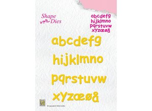 Nellie snellen Cutting and embossing stencils, letters from A - Z