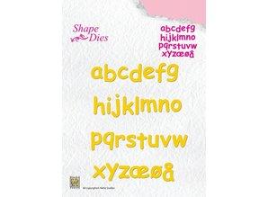 Nellie snellen Skæring og prægning stencils, breve fra A - Z