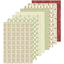 A5 Designer papir julen