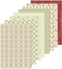 Leane Creatief - Lea'bilities A5 Designer paper Christmas