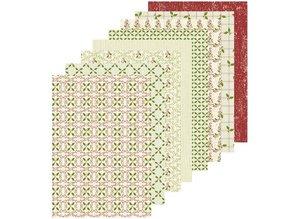 Leane Creatief - Lea'bilities Diseñador de papel A5 de Navidad