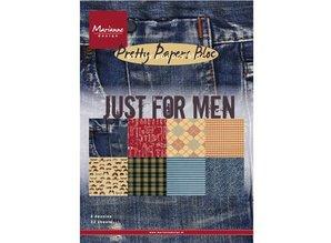 Marianne Design Designer Papir blok PrettyPapers, A5