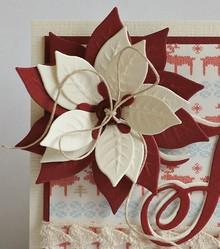 Marianne Design Taglio e goffratura stencil, Rosa di Natale