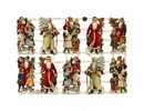 BILDER / PICTURES: Studio Light, Staf Wesenbeek, Willem Haenraets Traditional scraps with beautiful print motif: Vintage Santas