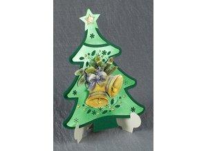 Exlusiv Exclusivas Bastelset para 2 tarjetas de Navidad titular de la tarjeta +