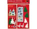 Exlusiv Eksklusive Bastelset for 2 jul kort + kortholderen