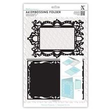 X-Cut / Docrafts A4 emboss.templ - shaped frame