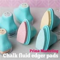 Chalk Edger Sæt med 4 farver